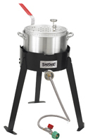 Bayou Classic 2212 Fryer Cooking Kit, 10 qt Capacity, Aluminum