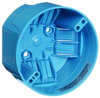 Carlon B720R-SHK Ceiling Fan Box, 1-Gang, Screw Mounting, PVC