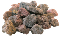 GrillPro 45887 Natural Lava Rock, For Gas Grills, Fireplace and Chimney