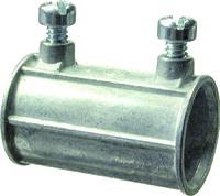 Halex 12210B Concretetight, Set-Screw Coupling, Zinc