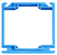 Carlon A420RR Electrical Box Cover, 4 in L, 4 in W, Square, PVC, For