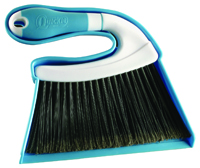 Quickie 446-3/48 Mini Sweep and Dustpan, 8 in L, Plastic