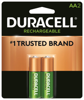 Duracell 66153 Rechargeable Battery, AA, Nickel-Metal Hydride