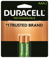 Duracell 66158 Rechargeable Battery, AAA, Nickel-Metal Hydride