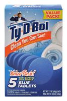 Ty-D-Bol 68000.12 Toilet Bowl Cleaner Tablet, 1.7 oz