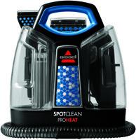 BISSELL 5207U Carpet Cleaner, 37 oz Tank, 120 V, Black/Motley Blue