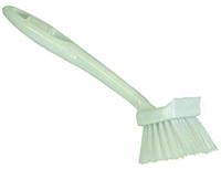 Quickie 101 Dishwash Brush, Polypropylene Fiber Bristle, Plastic Handle