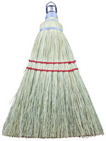 Chickasaw 19 Whisk Broom, 4 in Sweep Face, 7-1/2 in L Trim