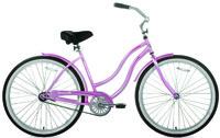 Kent International Beach Cruiser Bicycle, Women, 2 Wheels, 26 In Wheel,