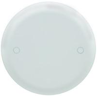 Carlon CPC4WH Ceiling Box Cover, Round, Lexan