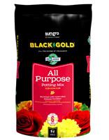 sun gro BLACK GOLD 1410102 16.0 QT P Potting Mix, Brown/Earthy, Granular