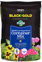 sun gro BLACK GOLD 1413000.CFL001P Container Potting Mix, 70 Bag