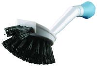Quickie 121MB Dishwash Brush with Microban, Polypropylene Fiber Bristle,
