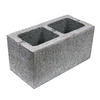 "BUILDING BLOCKS 8"" 2HOLE (90PC)"