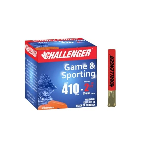 "Challenger  .410GA #7 Lead 2.5"" 1/2oz 25 Rounds"