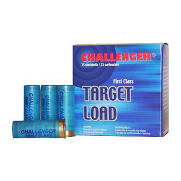Challenger Target Load  #8 2-3/4DR 11/8 Shotgun Ammo 12 Ga