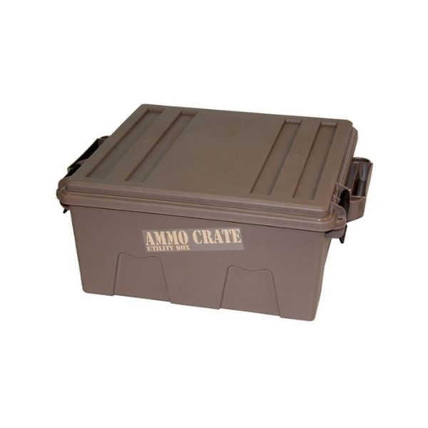 """MTM ACR8-72 Ammo Crate Utility Box  14x13.5x7.25"""" Brown"""