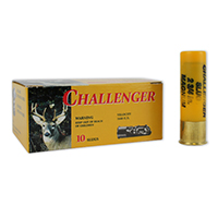 "Challenger Slugs 20GA Rifled Slug 2-3/4"" 7/8oz 10 Rounds"