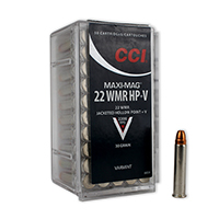 CCI Maxi Mag .22WMR 30GR Hollow Point 50 Rounds
