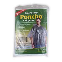 Coghlan's Emergency Rain Poncho Clear
