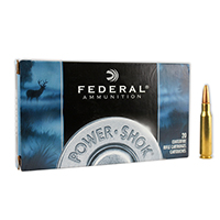 Federal Power Shok .308 WIN 150GR Jacketed Soft Point 20 Rounds