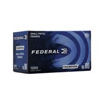Federal Champion Small Pistol Primers  #100