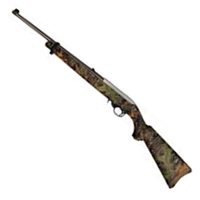 """Ruger 10/22 Rifle .22 LR Mossy Oak Obsession Camo Stock with SS 16"""" Barrel"""