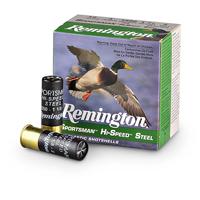"Remington Sportsman Hi-Speed Steel 2-3/4"" Shotgun Ammo 12 Ga"