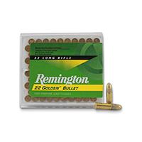 Remington Golden Bullet .22LR 40GR Rimfire Round Nose 100 Rounds
