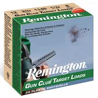 "Remington Gun Club Target Loads 12GA #7.5 2-3/4"" 1-1/8oz 25 Rounds"