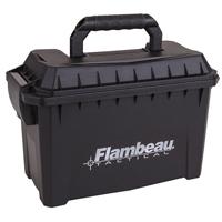 "Flambeau Polymer Ammo Can   9.75"" L x 4.75"" W x 6"" D"