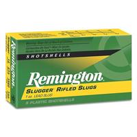 "Remington Slugger 12GA Lead Rifled Slug 2-3/4"" 1oz 5 Rounds"
