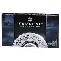 Federal Power Shok .222 REM 55Gr Soft Point 50 Rounds