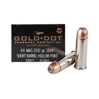 Speer Gold Dot Handgun .44 REM 210GR Hallow Point 20 Rounds