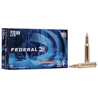 Federal Power Shok .270 WIN 130GR Soft Point 20 Rounds