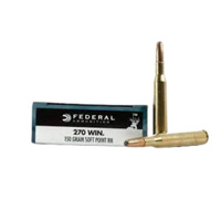 Federal Power Shok .270 WIN 150GR Soft Point 20 Rounds
