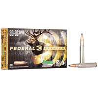 Federal Power Shok .30-06 SPFLD 125GR Jacketed Soft Point 20 Rounds
