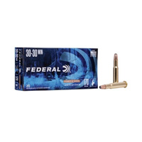Federal Power Shok .30-30 WIN 170GR Soft Point 20 Rounds