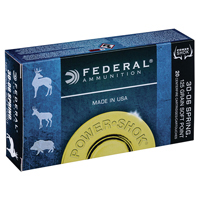 Federal Power Shok .30-30 WIN 125GR Hollow Point 20 Rounds