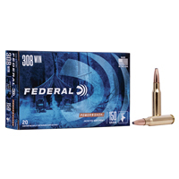 Federal Power Shok .308 WIN 150GR Soft Point 20 Rounds