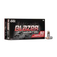 CCI Blazer Handgun 9MM Luger 147GR Full Metal Jacket 50 Rounds
