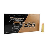 CCI Blazer Brass .38CAL 125GR Full Metal Jacket 50 Rounds