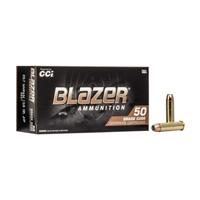 CCI Blazer Brass Ammo .357 Mag 158gr JHP