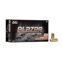 CCI 40 S&W Ammo Blazer Brass 180gr FMJ