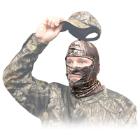 Primos Stretch-Fit Full Hood Camo Face Mask