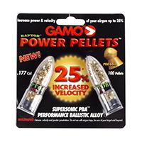 Gamo Power Pellets 0.177  Round Nose Pellets 100 Count