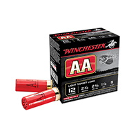 "Winchester AA 12GA #7-1/2"" Shot 3"" 1-1/8oz 25 Rounds"
