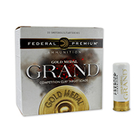 "Winchester AA 12GA #7.5 Lead Shot 2-3/4"" 1-1/8oz 25 Rounds"