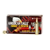 American Eagle Varmint & Predator 22-250 50GR HP