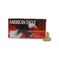 Federal AE Handgun .40 CAL 155GR Full Metal Jacket 50 Rounds